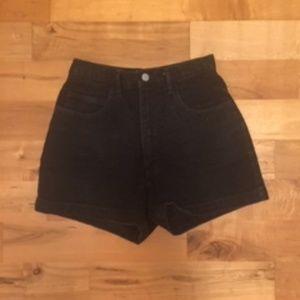 Vintage Guess High Rise Denim Mom Shorts